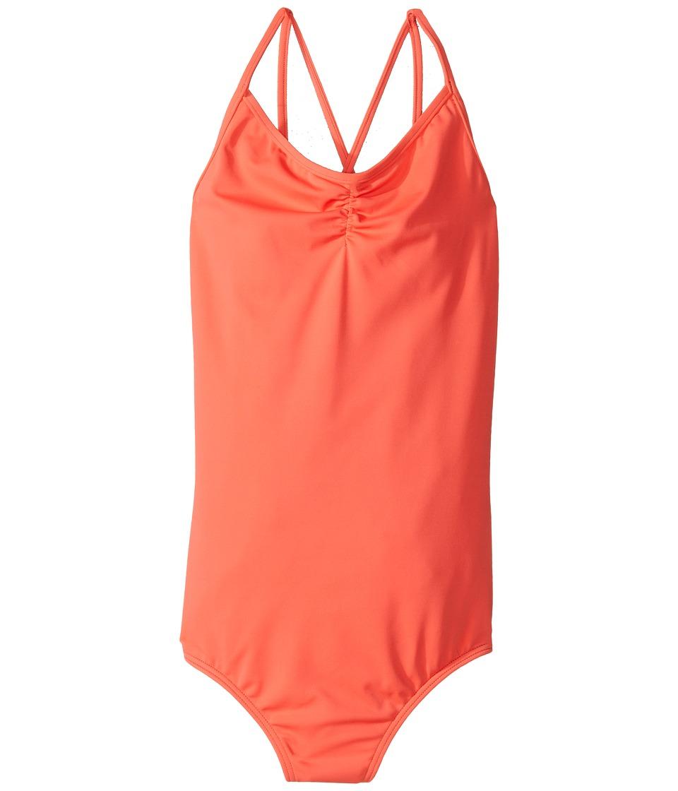 Billabong Kids - Sol Searcher One-Piece (Little Kids/Big Kids) (Tropical Punch) Girl's Swimsuits One Piece