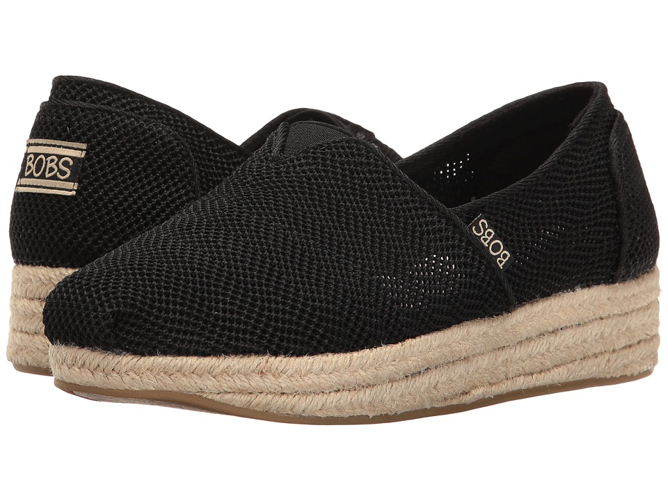BOBS from SKECHERS - Highlights (Black) Women's Flat Shoes