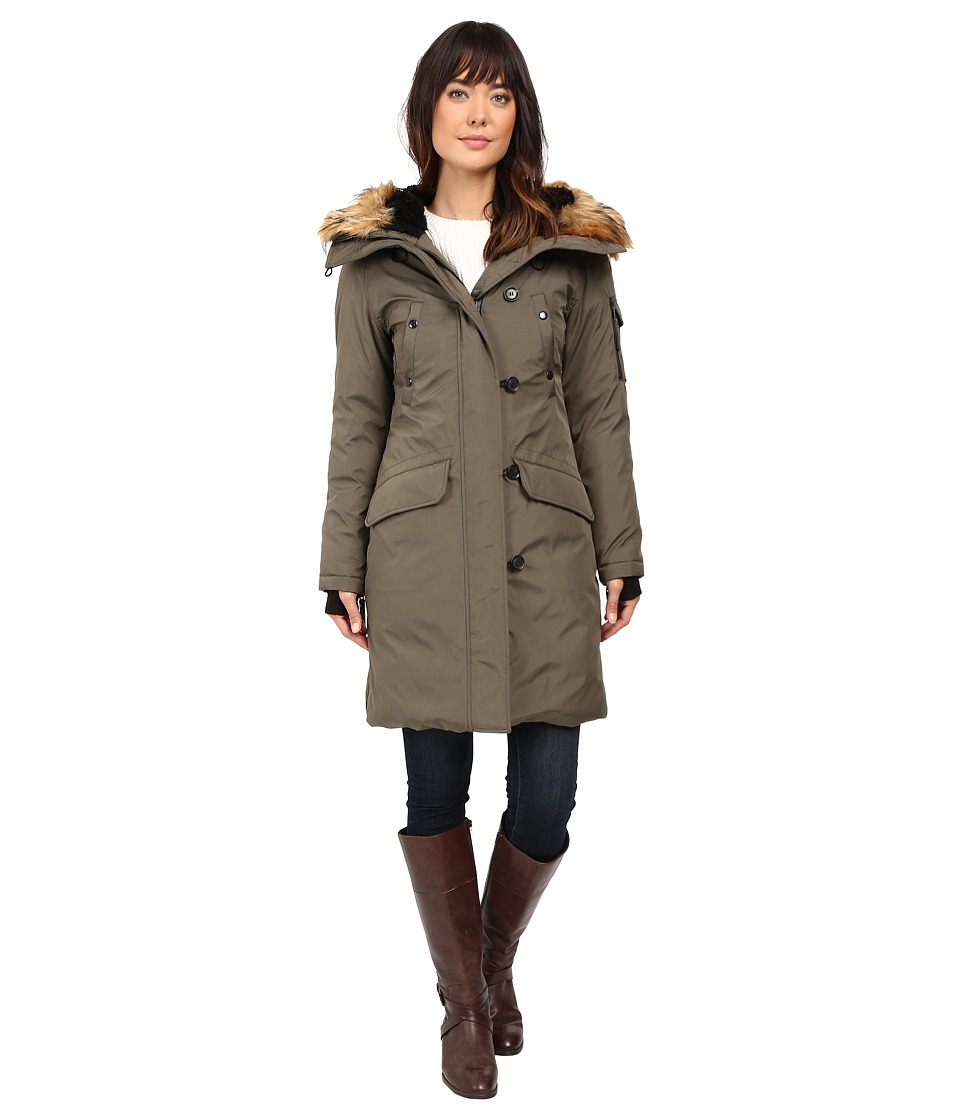 S13 - Alaska Parka (Army) Women's Coat