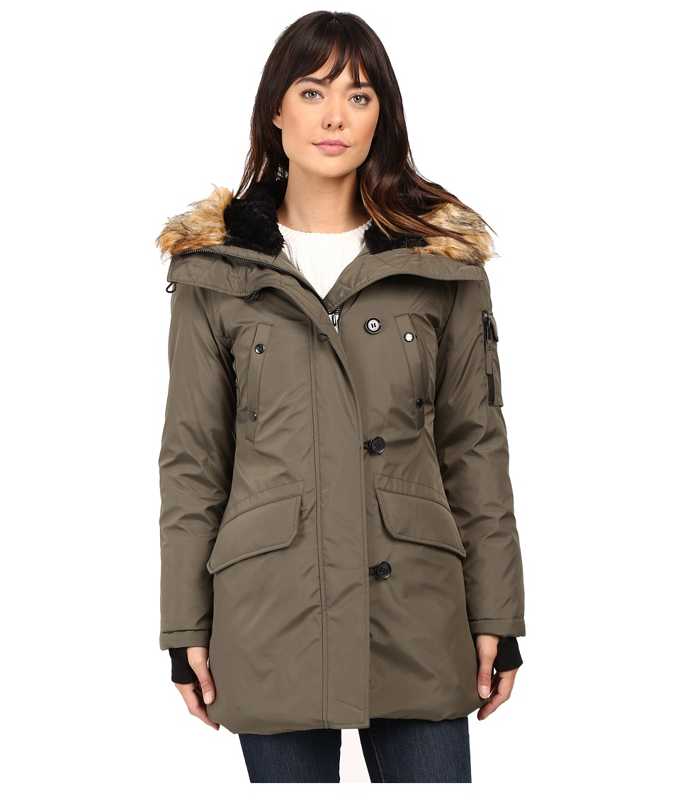 S13 - Eskimo Parka (Army) Women's Coat