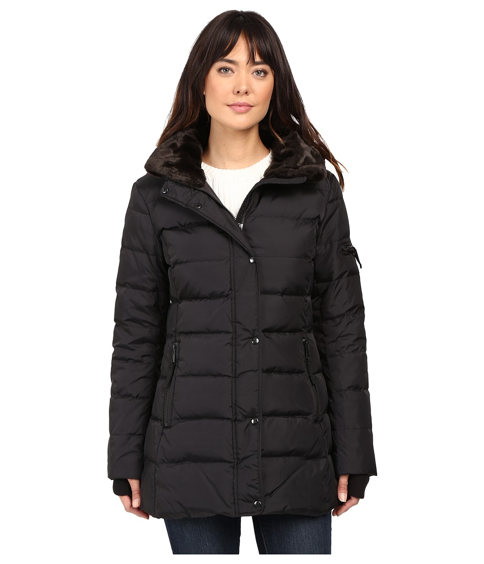 S13 - Matte East Sider (Black) Women's Coat