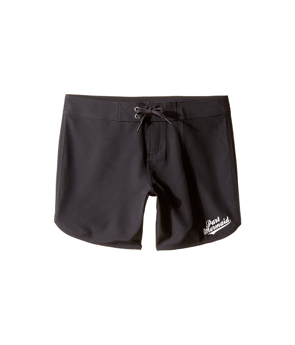 Billabong Kids Sol Searcher 5 Boardshorts (Little Kids/Big Kids) (Black Sands) Girl