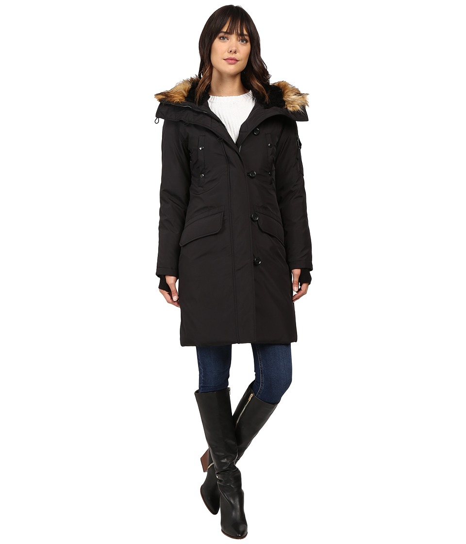 S13 - Alaska Parka (Black) Women's Coat