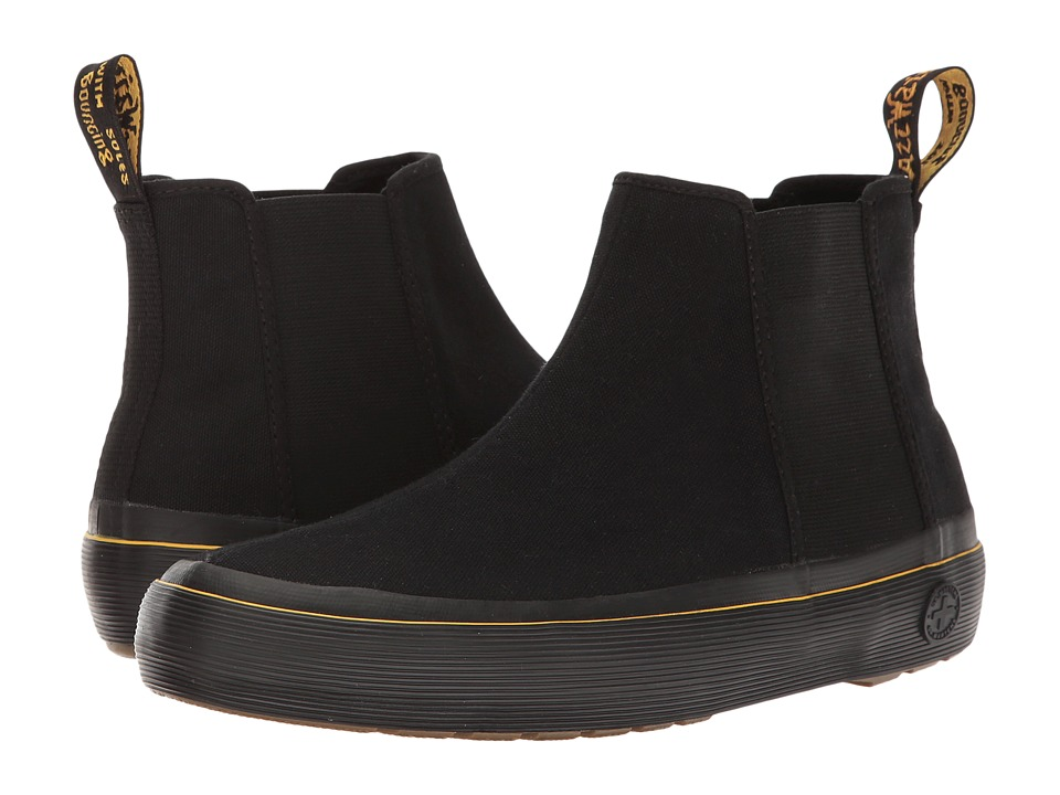 Dr. Martens - Phoebe (Black Canvas 2) Women's Boots