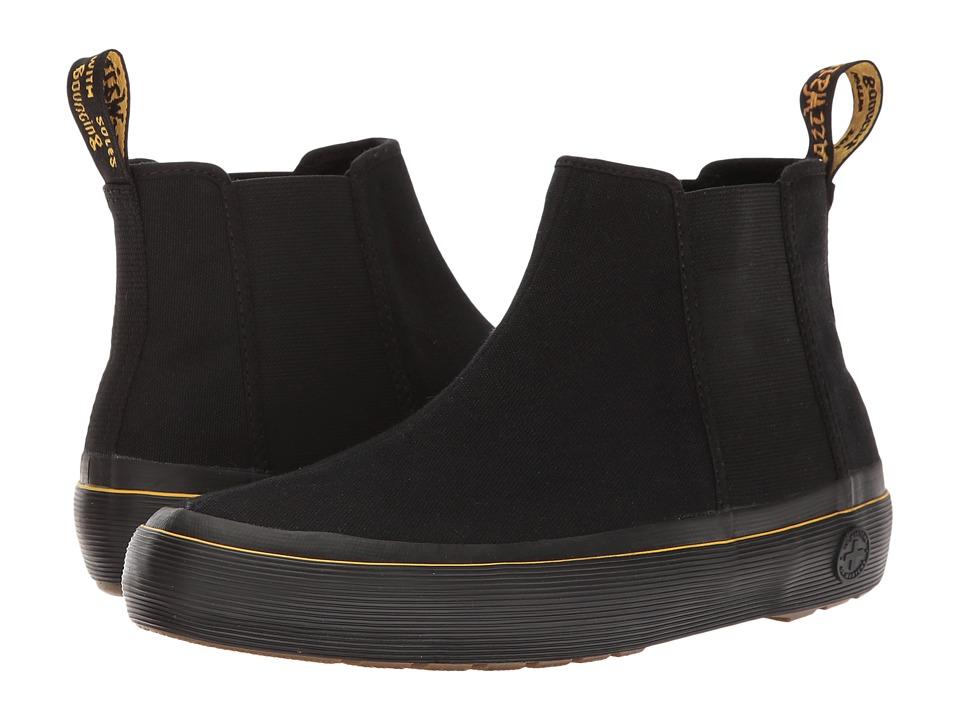 Dr. Martens - Phoebe (Black Canvas 2) Women's Boots