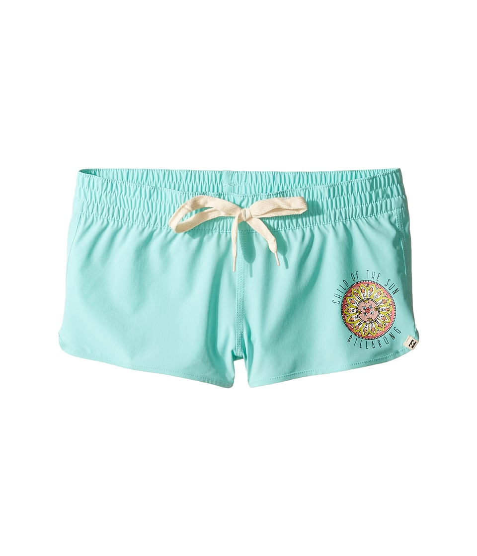 Billabong Kids Samsara Volley Shorts (Little Kids/Big Kids) (Surf Blue) Girl
