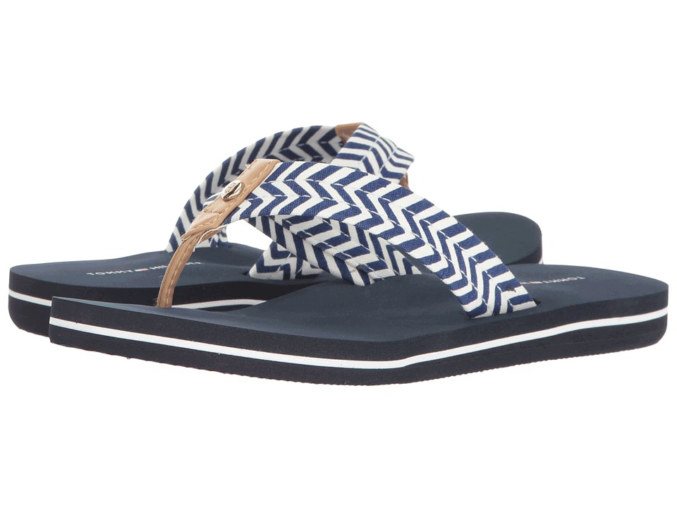 Tommy Hilfiger - Cave (Kings Blue/Ambra Chevron) Women's Sandals