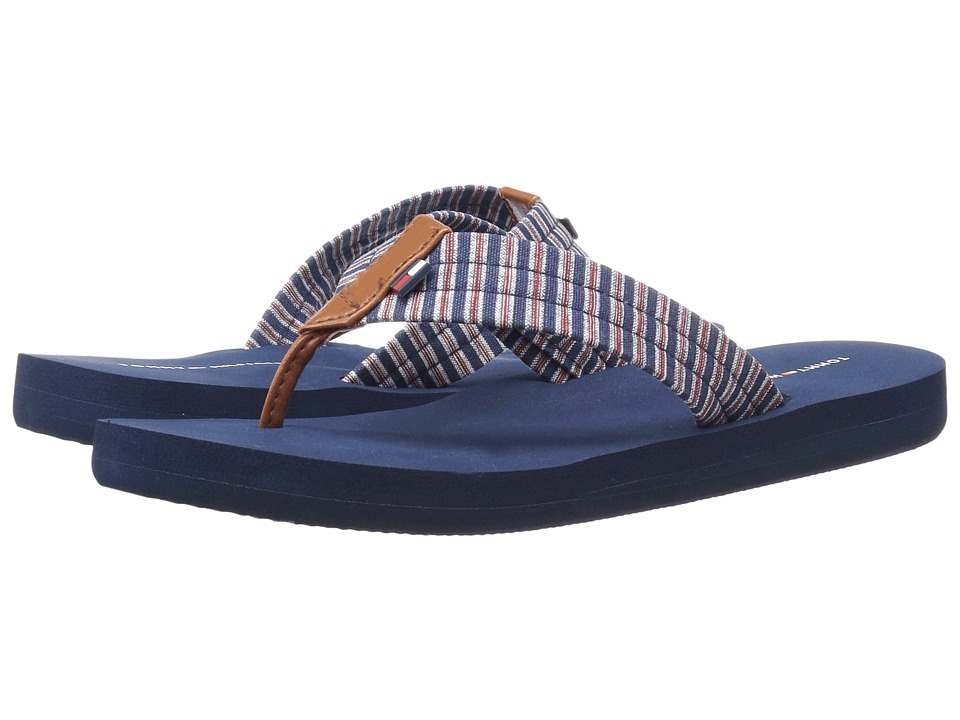 Tommy Hilfiger - Chuck (Blue Multi/Raw Honey/Valentine) Women's Sandals