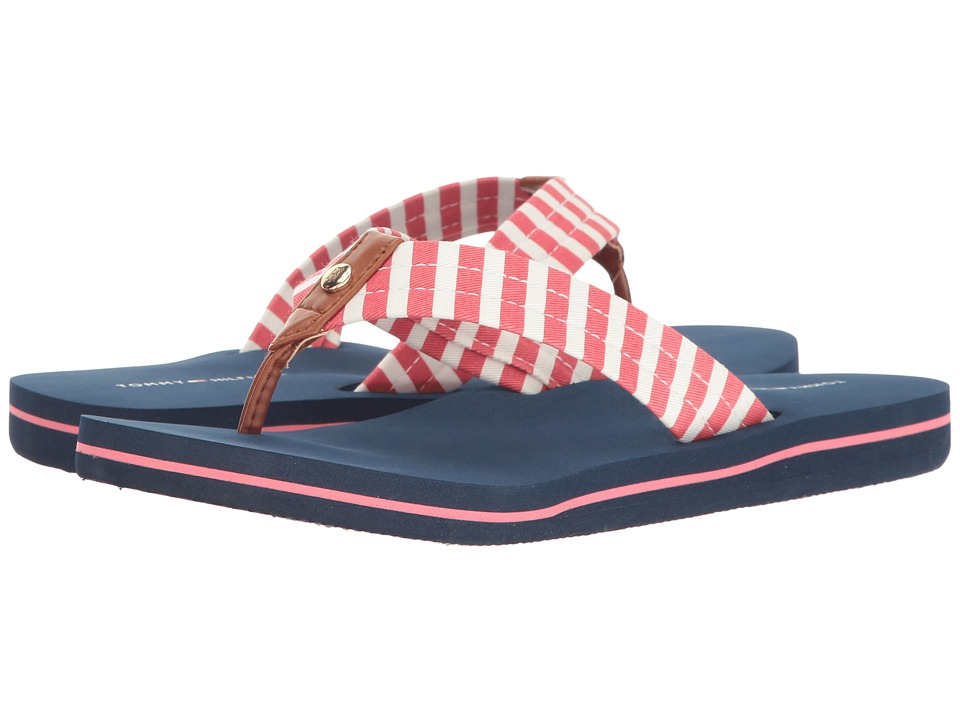 Tommy Hilfiger - Cicin (Coral Multi/Raw Honey) Women's Sandals