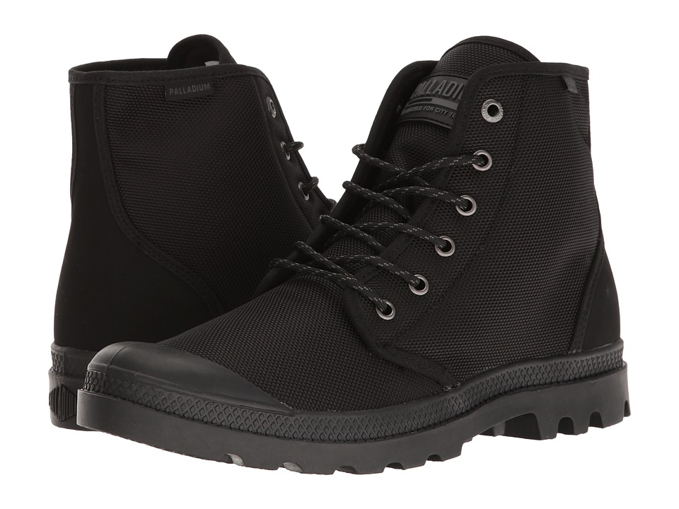 Palladium - Pampa Hi Originale TX (Black/Castlerock) Lace-up Boots