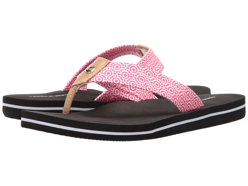 Tommy Hilfiger - Corrale-X (Hot Fuchsia/Ambra) Women's Sandals