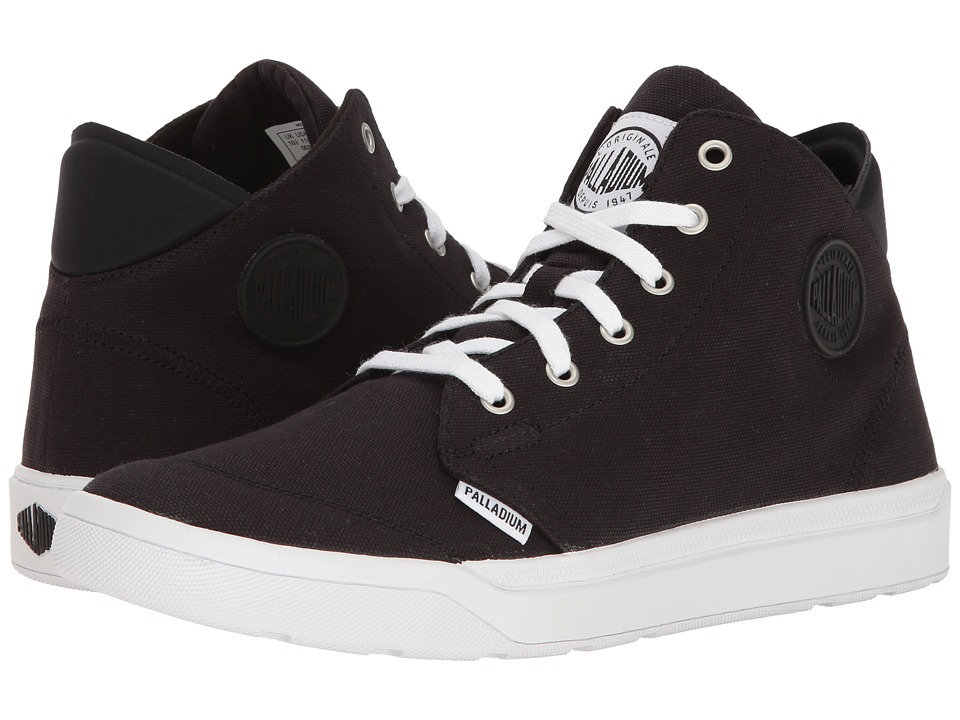 Palladium Desrue Mid (Black/White) Men