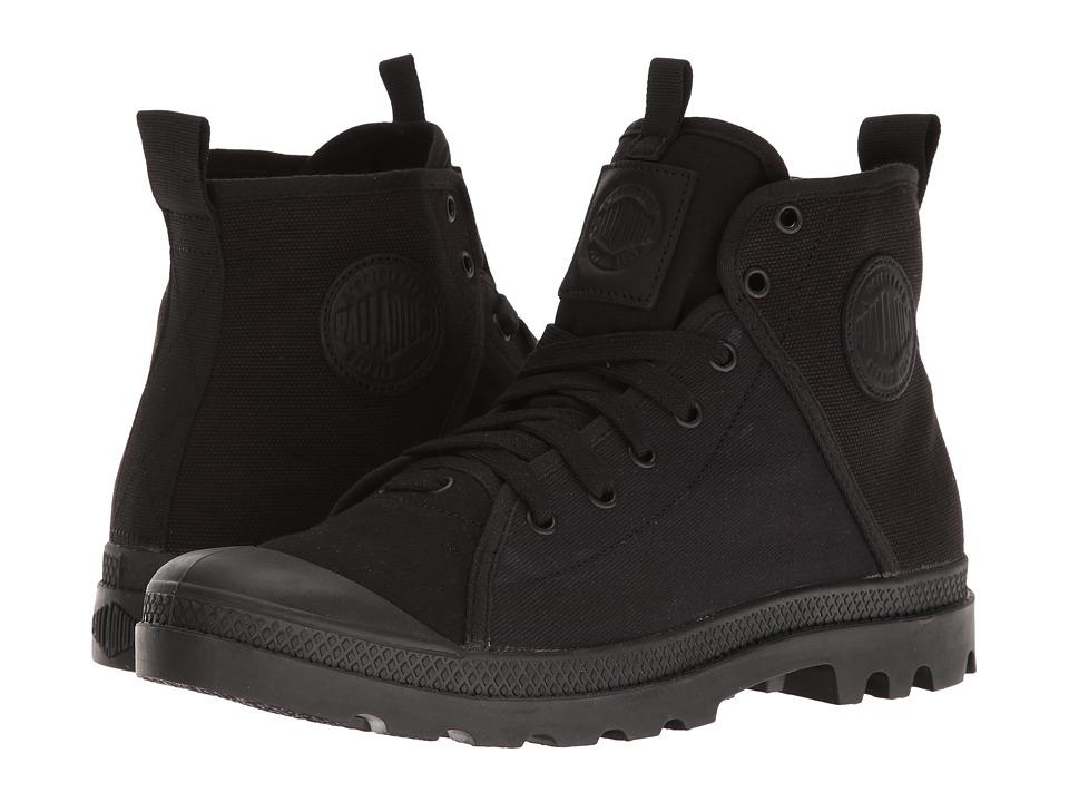 Palladium - Pampa Hi 47 (Black/Chevron) Men's Lace up casual Shoes