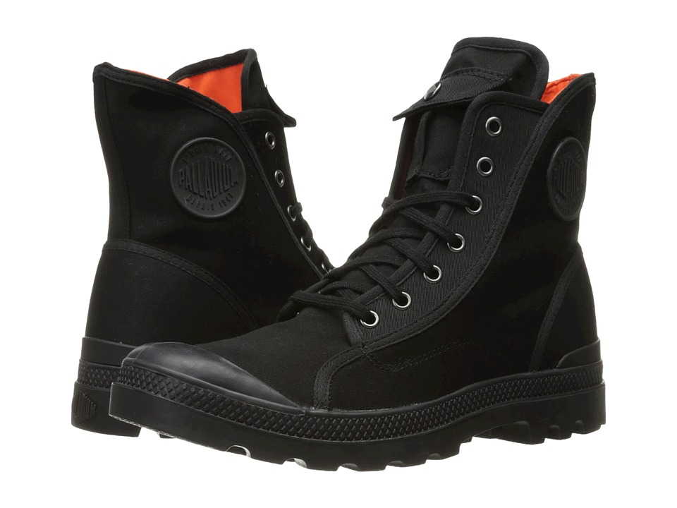 Palladium - Pampa M65 Hi (Black/Flame) Men's Lace-up Boots
