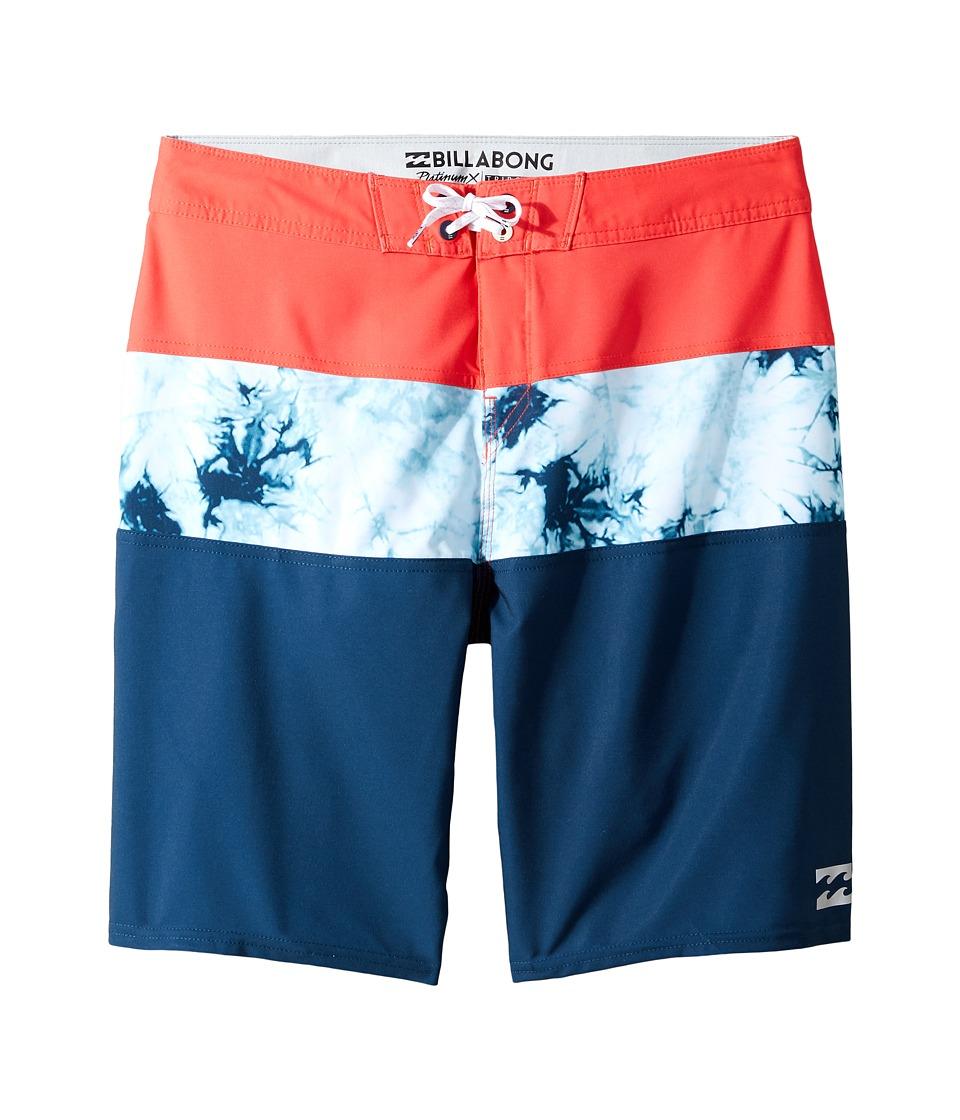 Billabong Kids - Tribong X Boardshorts (Big Kids) (Navy) Boy's Swimwear