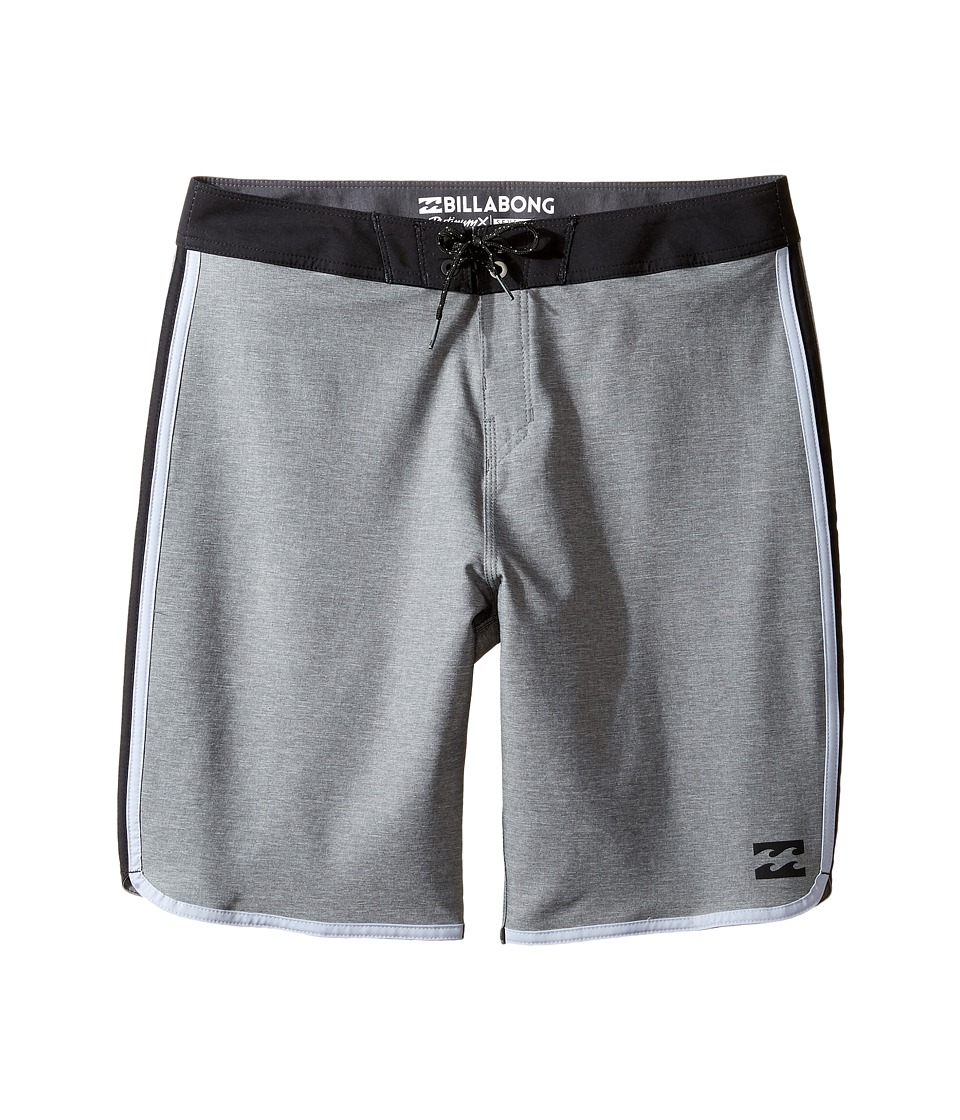 Billabong Kids 73 X Boardshorts (Big Kids) (Charcoal) Boy