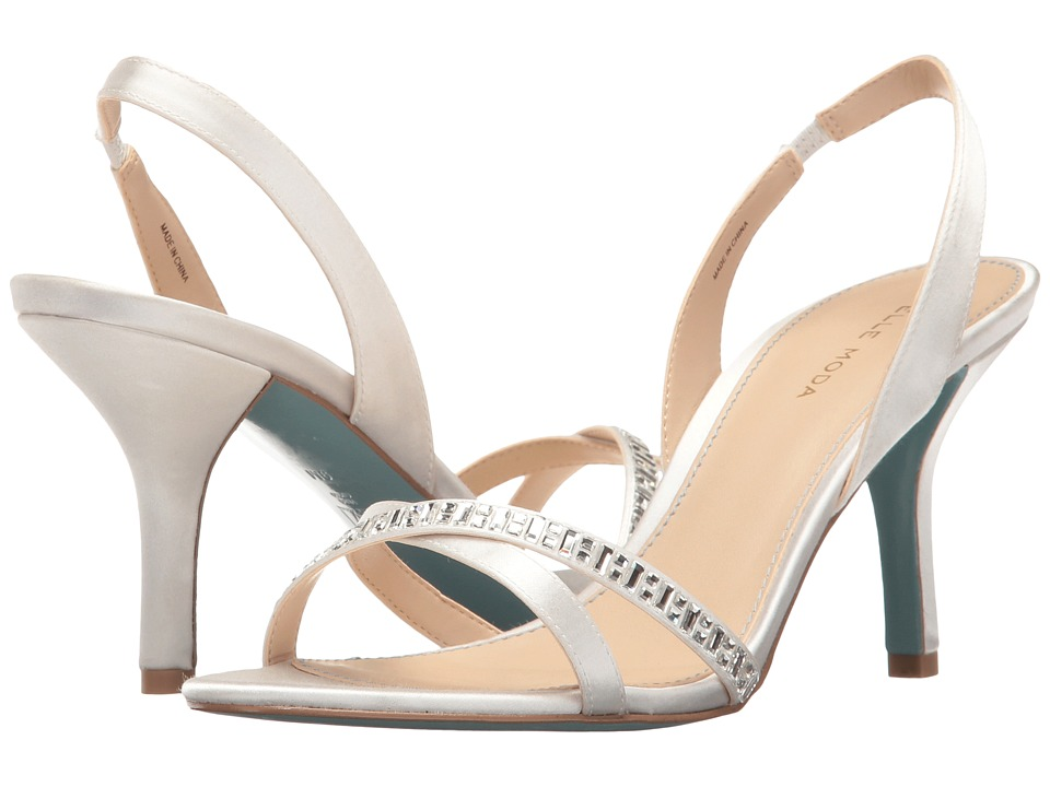 Pelle Moda - Inna (White Satin) High Heels