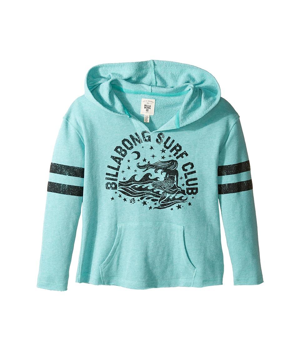 Billabong Kids - Cuttin Loose Hoodie (Little Kids/Big Kids) (Mediterranean) Girl's Sweatshirt