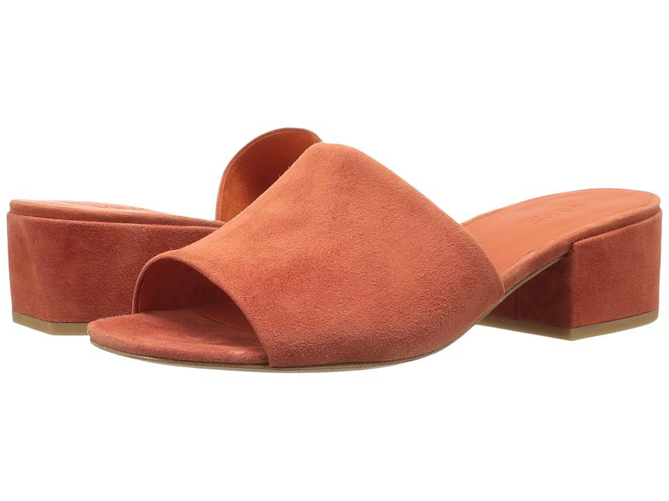 Vince - Rachelle 2 (Orange Kid Suede) Women's Shoes