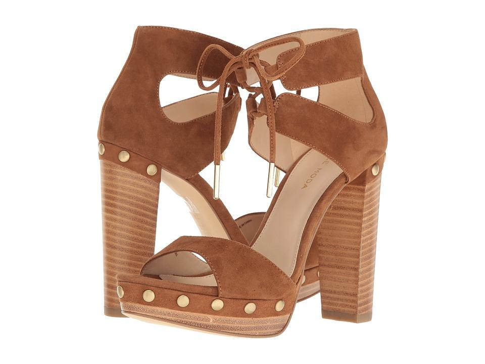 Pelle Moda - Pacific (Cognac Suede) High Heels