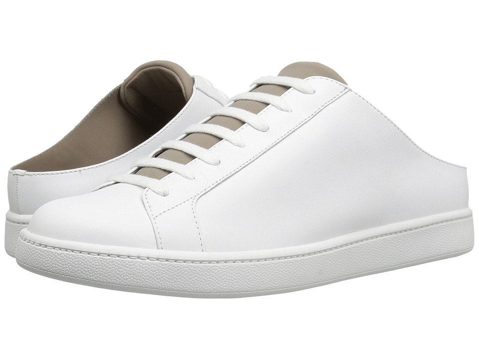 Vince - Varley (Optic White Matte/Woodsmoke Neoprene) Women's Shoes