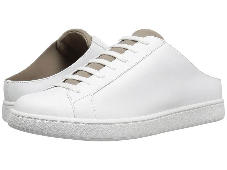 Vince - Varley (Optic White Matte/Woodsmoke Neoprene) Women's Shoes