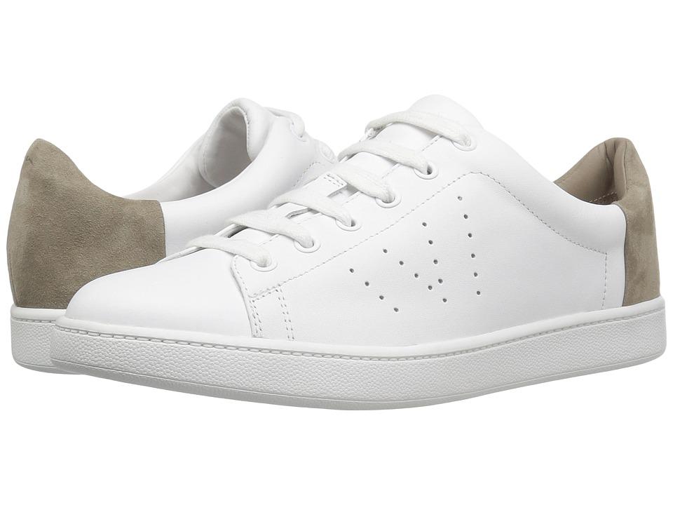 Vince - Varin (Optic White Matte/Woodsmoke Kid Suede) Women's Shoes