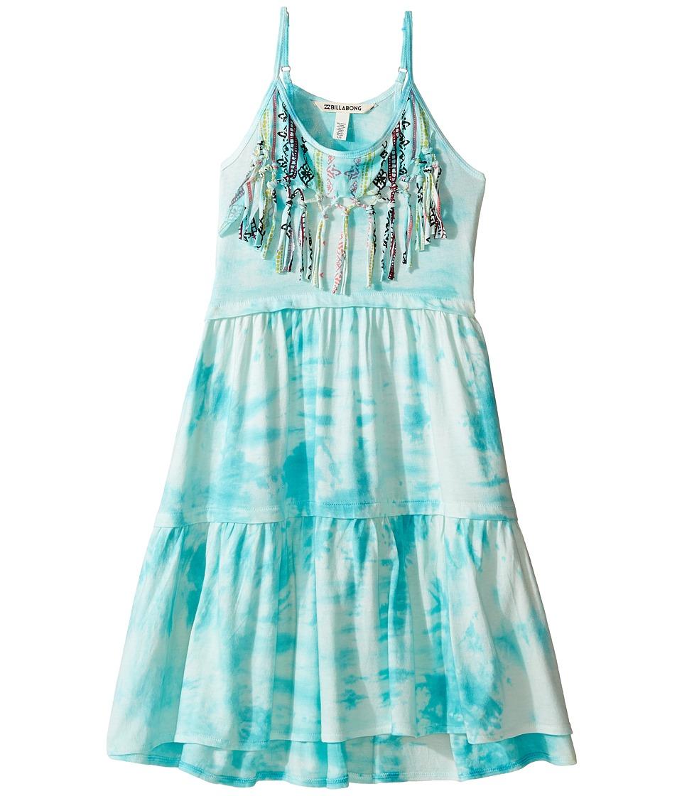 Billabong Kids Heart Roads Dress (Little Kids/Big Kids) (Mediterranean) Girl