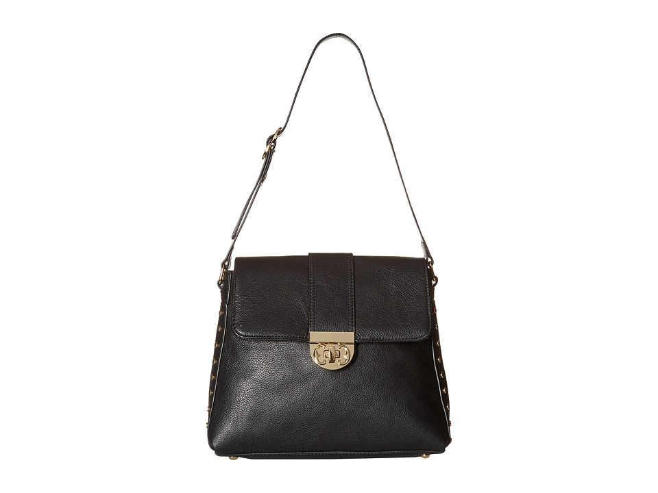 Emma Fox - Brookfield Shoulder Bag (Black) Shoulder Handbags