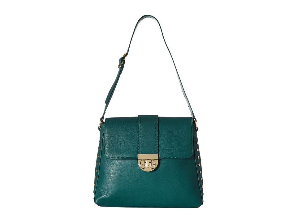 Emma Fox - Brookfield Shoulder Bag (Aspen Green) Shoulder Handbags