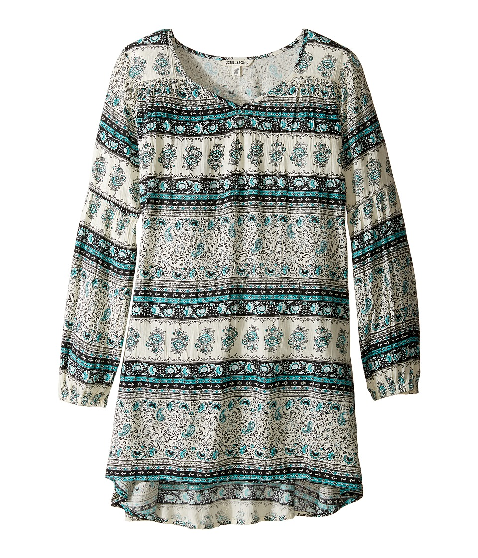 Billabong Kids - Festival Child Dress (Little Kids/Big Kids) (Mediterranean) Girl's Dress