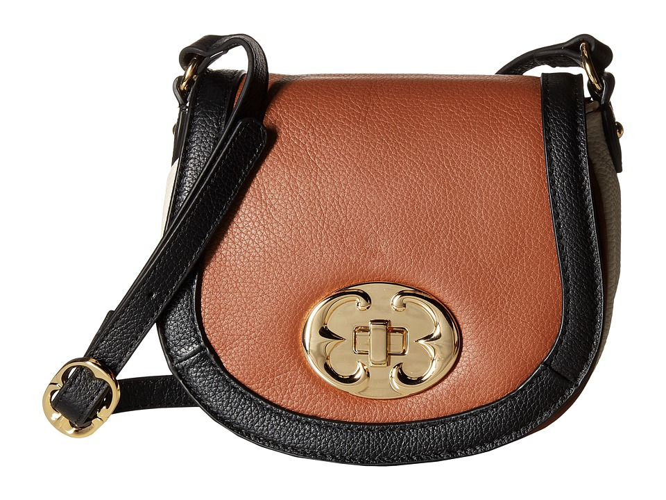 Emma Fox - Classics Crossbody (Cognac Multi) Cross Body Handbags
