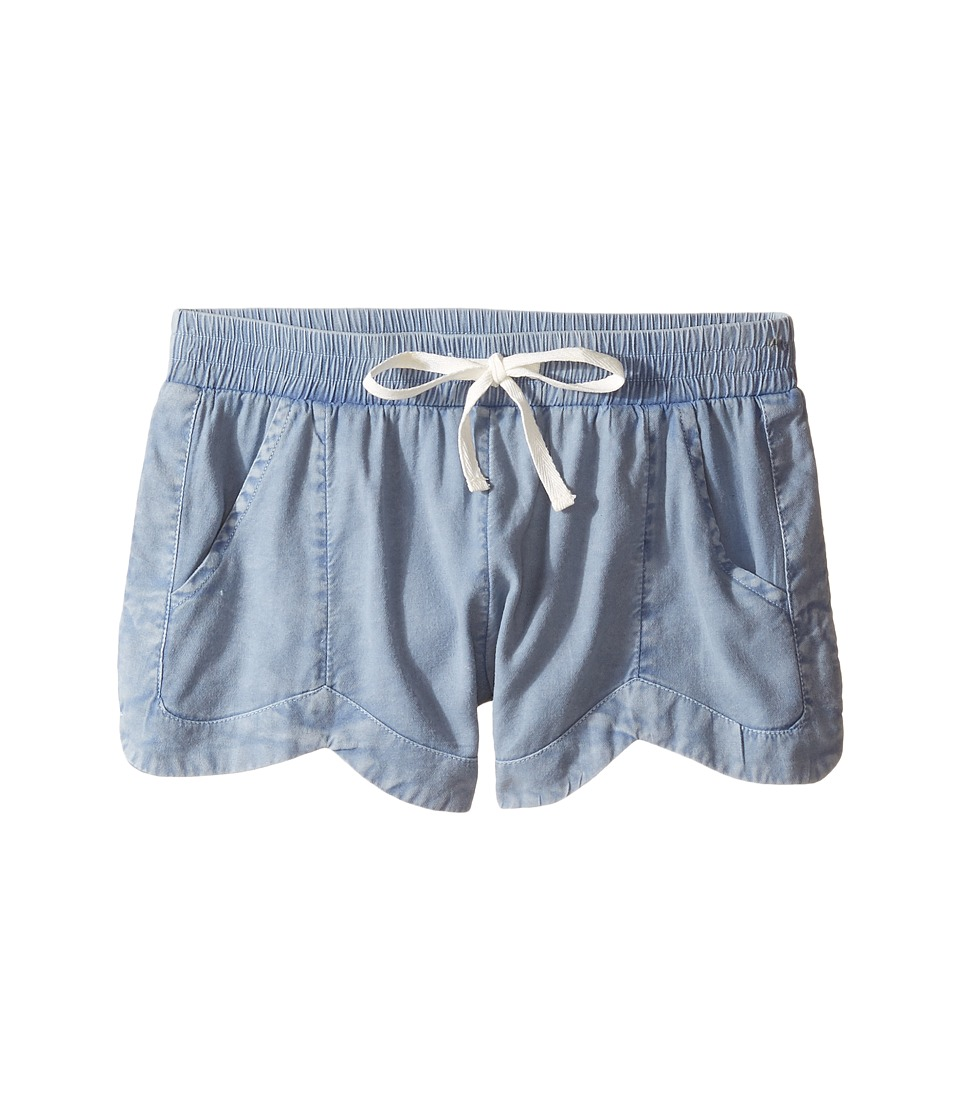 Billabong Kids - Mad For You Shorts (Little Kids/Big Kids) (Chambray) Girl's Shorts
