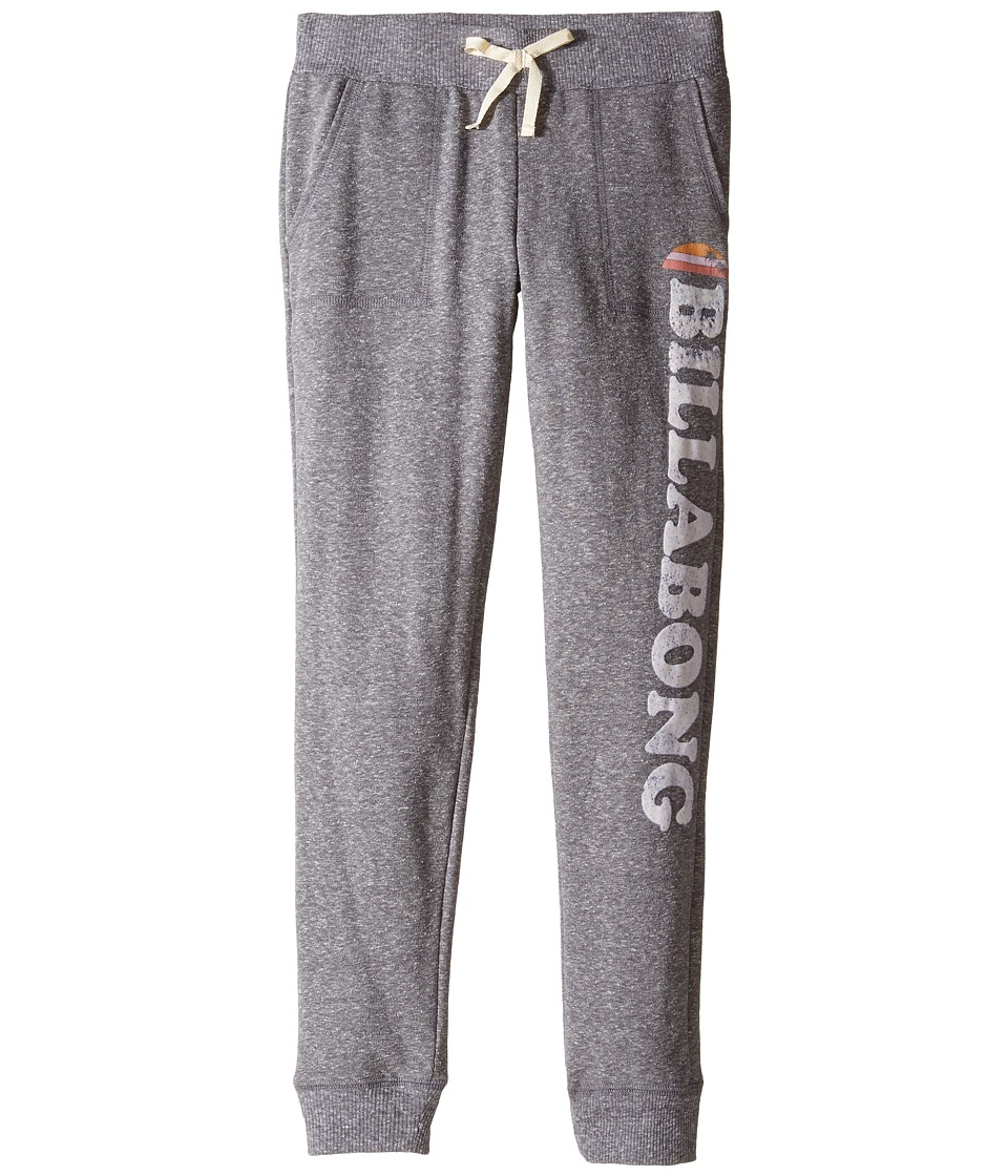 Billabong Kids - Dream Team Pants (Little Kids/Big Kids) (Dark Athletic Grey) Girl's Casual Pants
