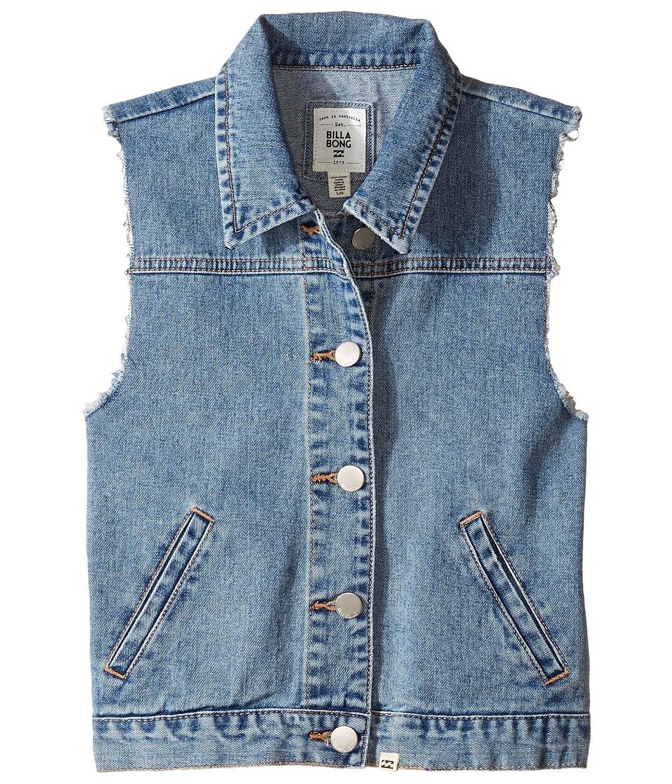 Billabong Kids - Part Mermaid Vest (Little Kids/Big Kids) (Salt Water Rinse) Girl's Vest