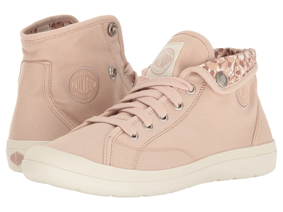 Palladium - Aventure (Rose Dust/Marshmallow/Tulip Print) Women's Lace up casual Shoes