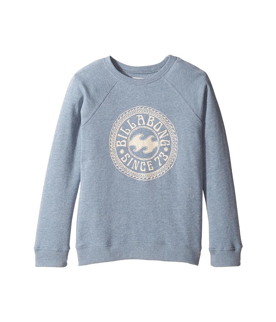 Billabong Kids - Sandy Cheeks Sweatshirt (Little Kids/Big Kids) (Blue Jay) Girl's Sweatshirt