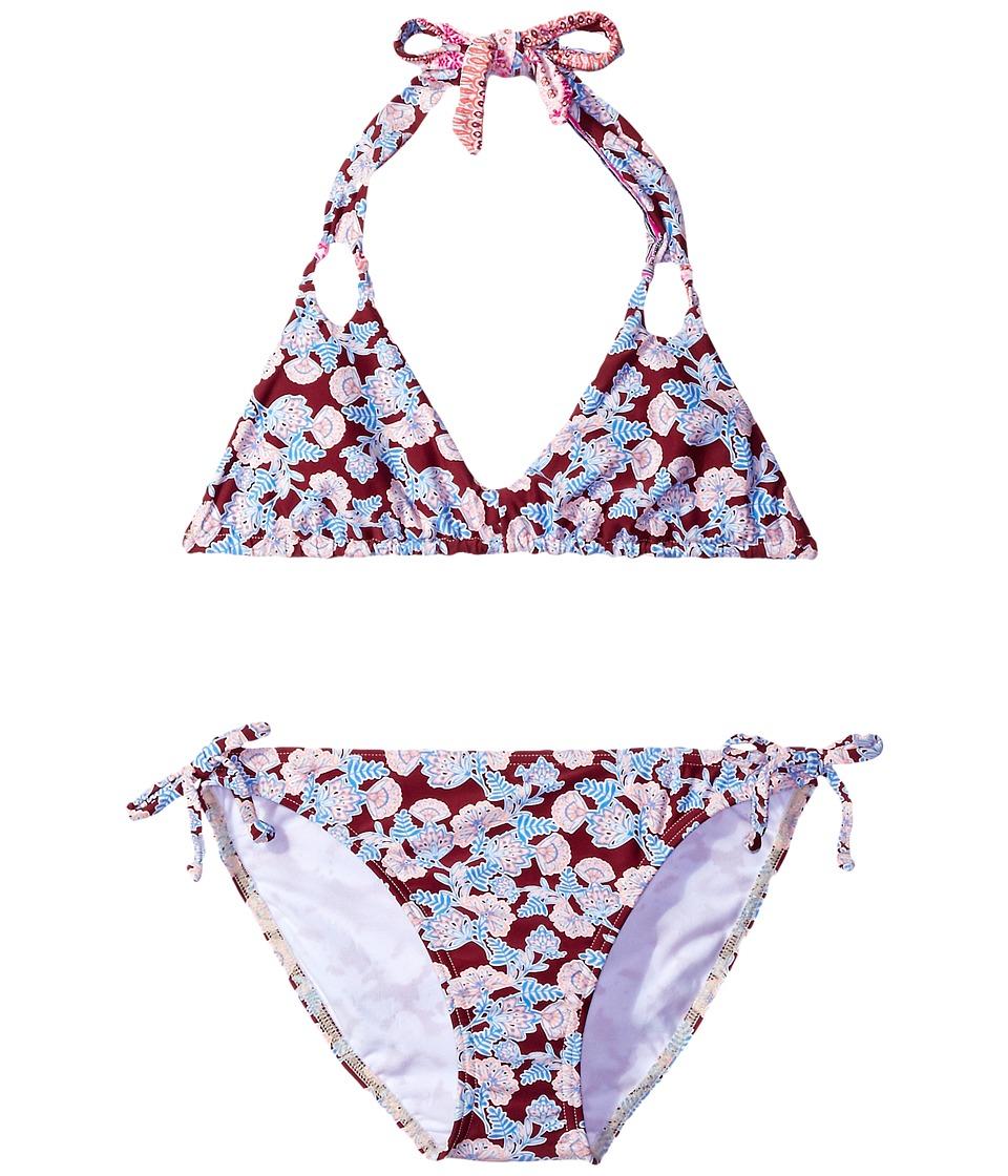 O'Neill Kids - Cruz Revo Halter Top (Little Kids/Big Kids) (Multi) Girl's Swimwear
