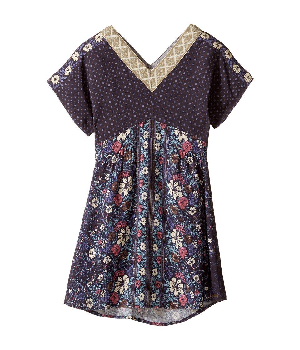 O'Neill Kids - Tara Woven Short Sleeve Dress (Big Kids) (Periscope) Girl's Dress