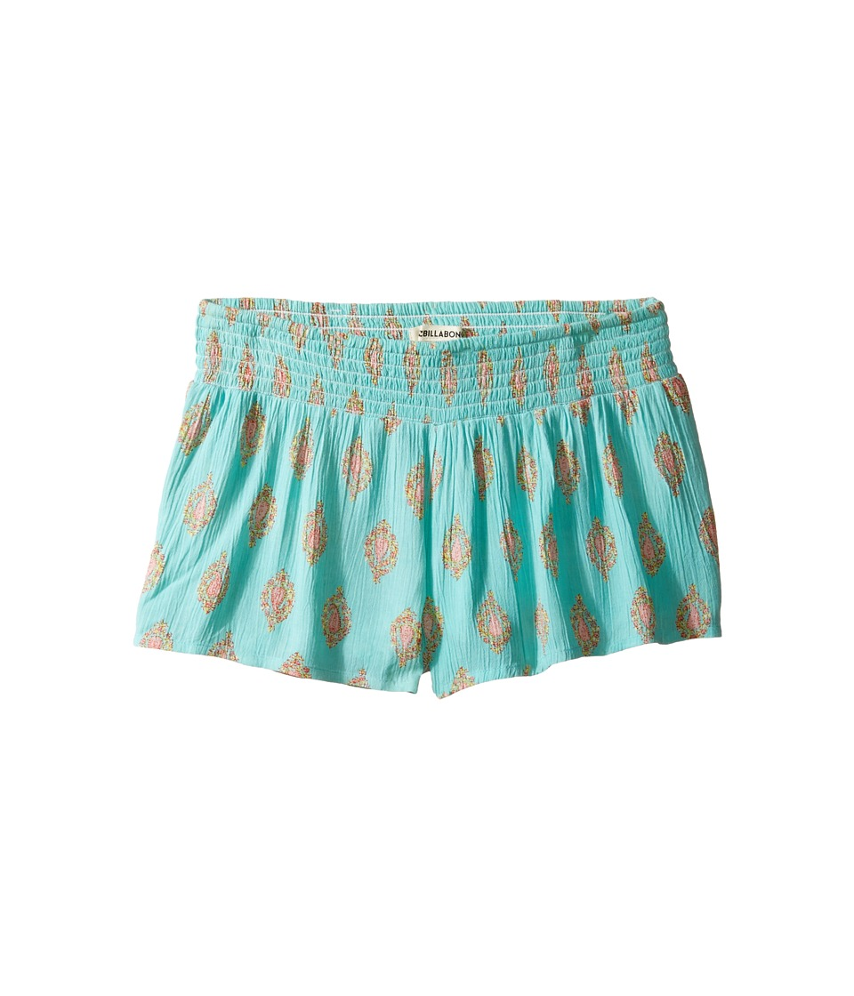 Billabong Kids - Spin Round Shorts (Little Kids/Big Kids) (Surf Blue) Girl's Shorts