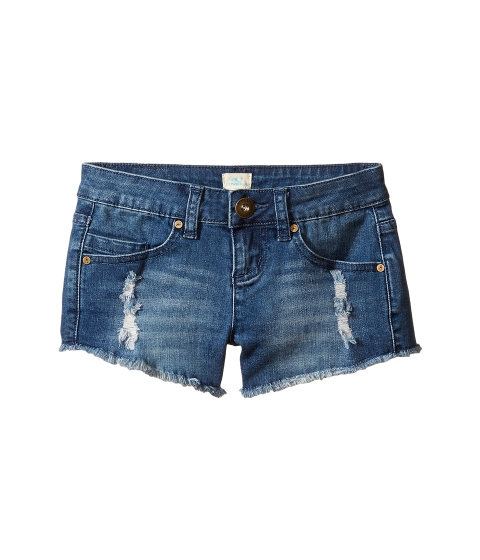 O'Neill Kids - Camper Shorts (Little Kids/Big Kids) (Blue Grass) Girl's Shorts