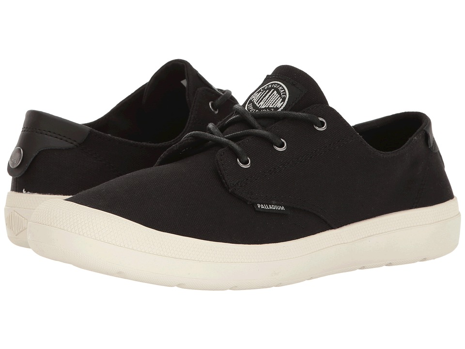 Palladium - Voyage (Black/Marshmallow) Women's Lace up casual Shoes