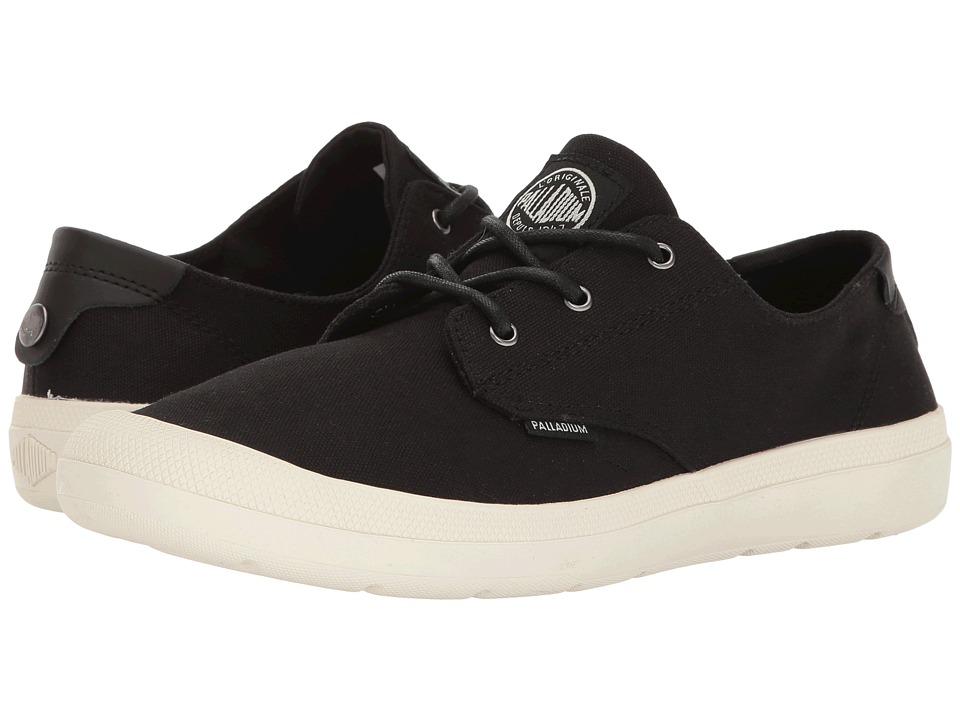 Palladium - Voyage (Black/Marshmallow) Women's Lace up casual Shoes