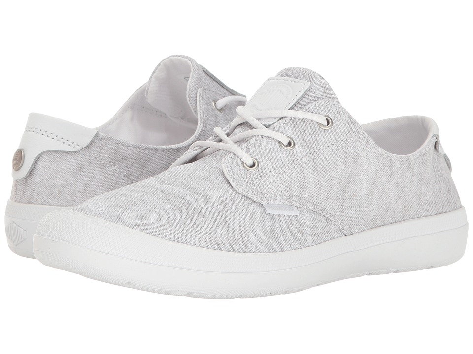Palladium - Voyage (White Metal/White) Women's Lace up casual Shoes