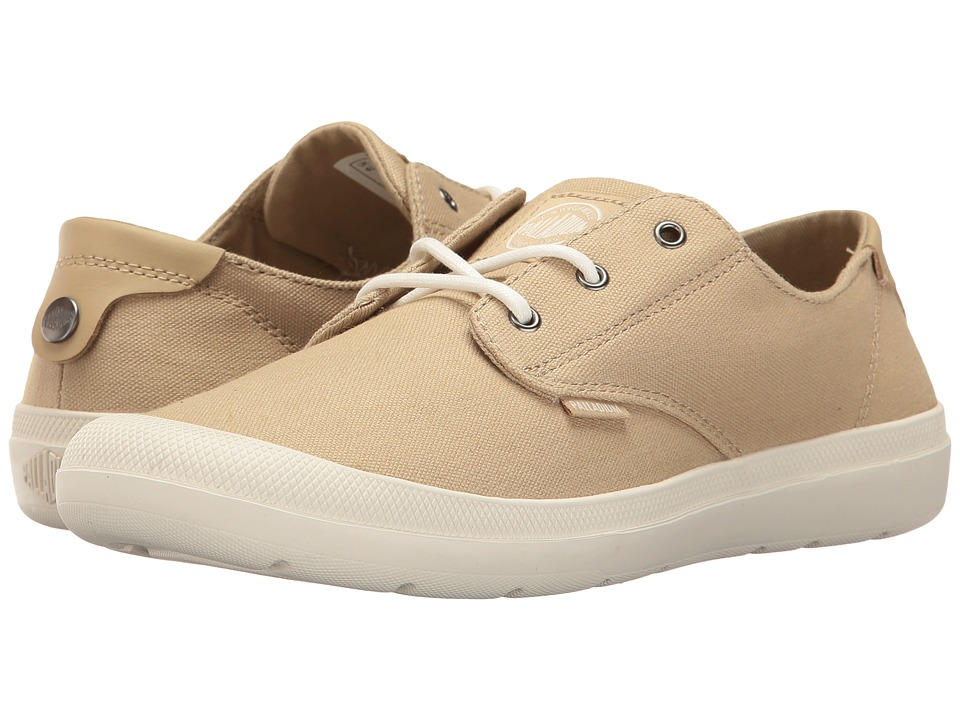 Palladium - Voyage (Sahara/Marshmallow) Women's Lace up casual Shoes
