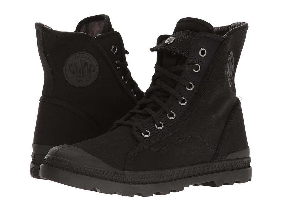 Palladium - Pampa M65 Hi LP (Black/Black/Floral Lining) Women's Lace-up Boots