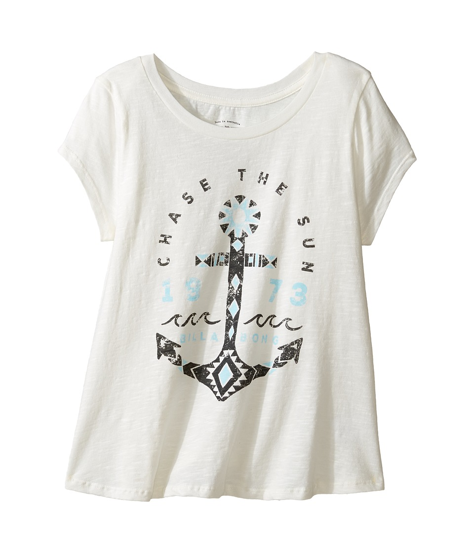 Billabong Kids - Chase the Sun Tee (Little Kids/Big Kids) (Cool Wip) Girl's T Shirt