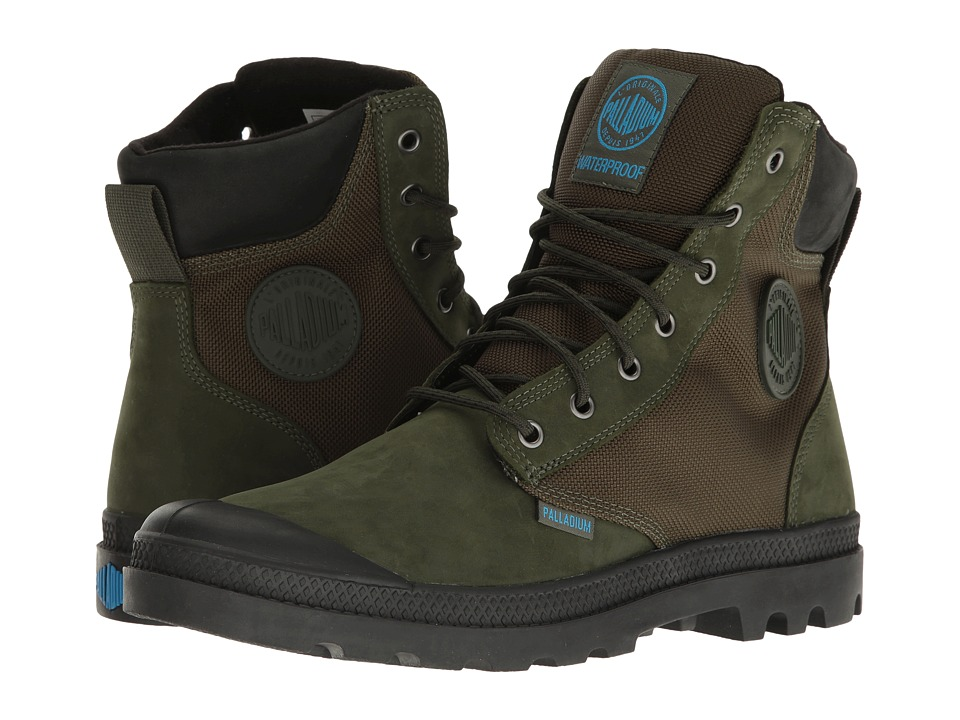 Palladium - Pampa Sport Cuff WPN (Army Green/Black) Boots