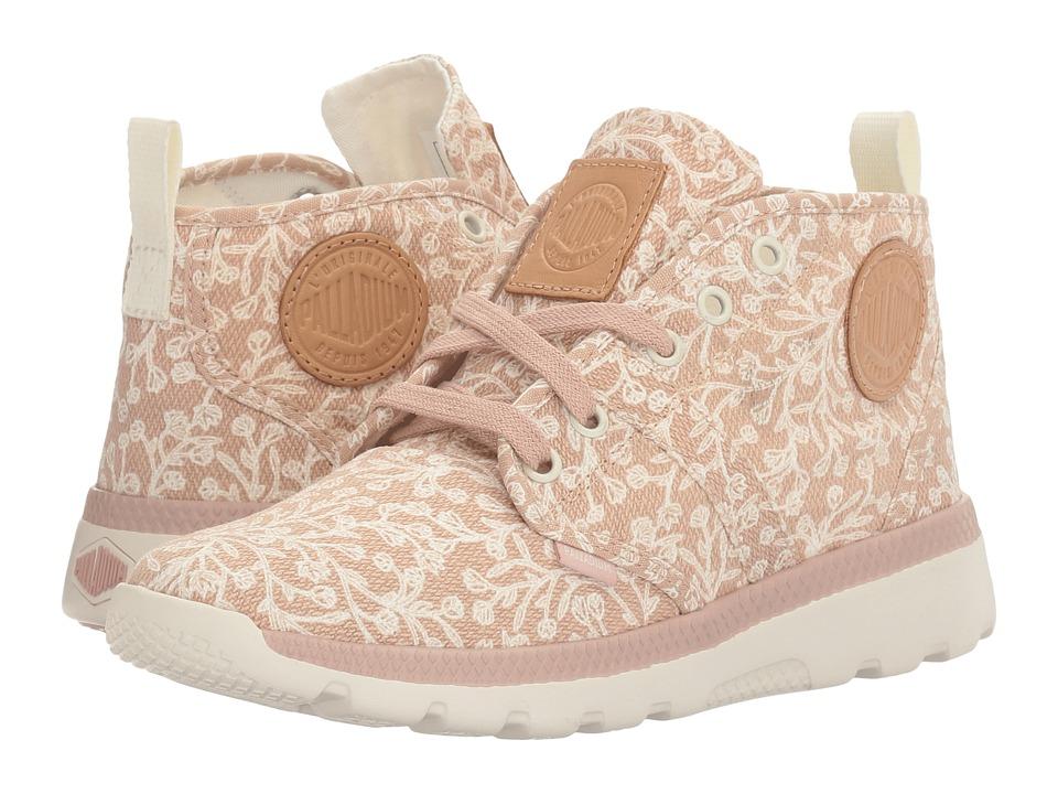 Palladium - Pallaville Hi (Rose Dust/Marshmallow/Tulip Print) Women's Lace up casual Shoes