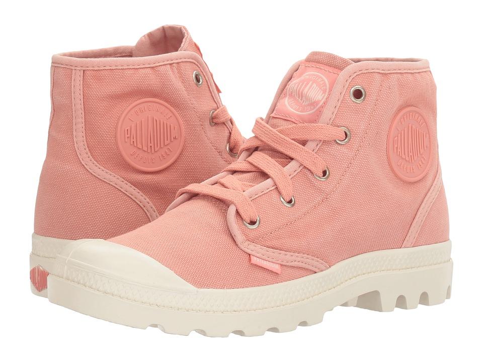 Palladium - Pampa Hi (Raspberry/Marshmallow) Women's Lace-up Boots